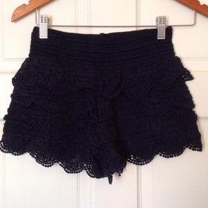Rewind Ruffled Shorts